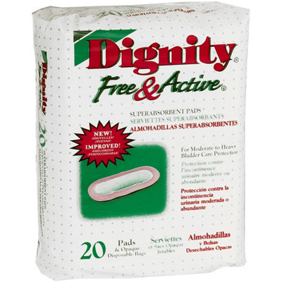 Humanicare Adult Incontinence Underwear Free & Active Super Absorbent