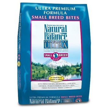 Natural Balance Ultra Premium Formula Small Breed Bites Dry Dog Food