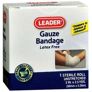 Leader Gauze Bandage, 2