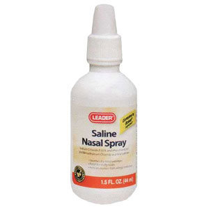 Leader Saline Nasal Spray, 1.5 oz.