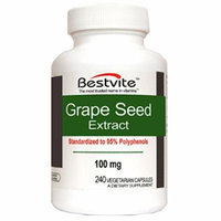 Grapeseed Extract 100mg (240 Vegetarian Capsules)