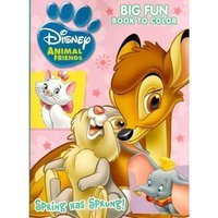 Disney Animal Friends ~ Big Fun Book to Color ~ Puppy Love!
