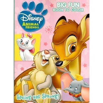 Disney Animal Friends ~ Big Fun Book to Color ~ Puppy Love!