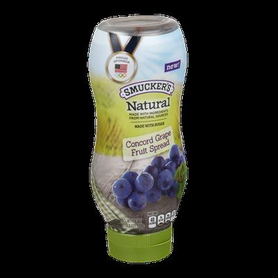 Smucker's Natural Concord Grape Fruit Spread