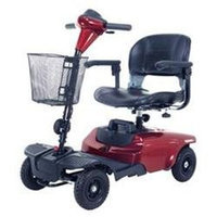 Drive Medical Bobcat 4 Wheel Compact Scooter - Red