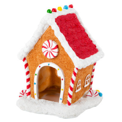 Top FinA Gingerbread House Aquarium Ornament