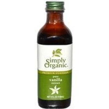 Simply Organic Pure Vanilla Extract -- 4 fl oz
