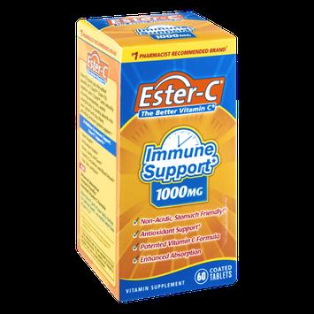 Ester-C Immune Support 1000mg Vitamin Supplement- 60 CT