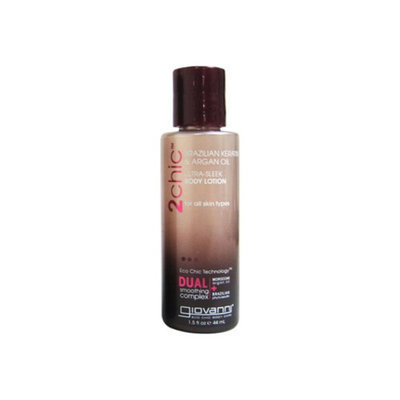 Giovanni Hair Products Giovanni Hair Care 1110055 Body Lotion 2Chic Silk Travel Size Case Of 12 1.5 Oz