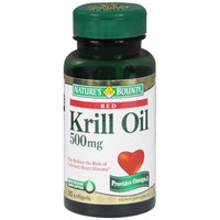 Nature's Bounty Red Krill Oil 500mg, Softgels