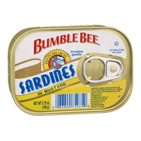 Bumble Bee Sardines in Mustard