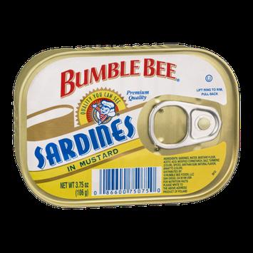 Bumble Bee Sardines in Mustard