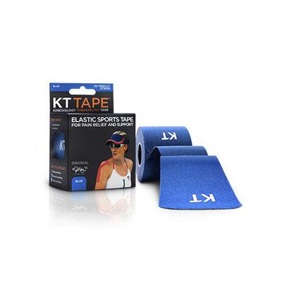 KT TAPE Original, Pre-cut, 20 Strip, Cotton, Blue
