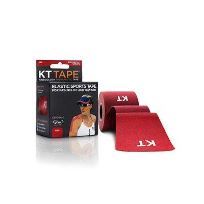 KT TAPE Original, Pre-cut, 20 Strip, Cotton, Red