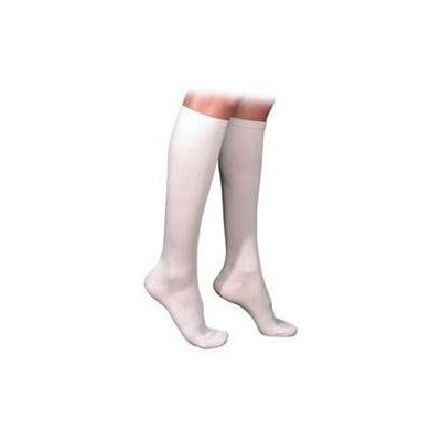 Sigvaris 230 Cotton Series 30-40 mmHg Men's Closed Toe Knee High Sock - Size: L1, Color: Navy 10