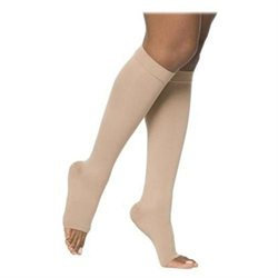 Sigvaris 862CM4O66 860 Select Comfort Series 2030 mmHg Open Toe Unisex Knee Highs 862C Size M4#44; Color Crispa 66