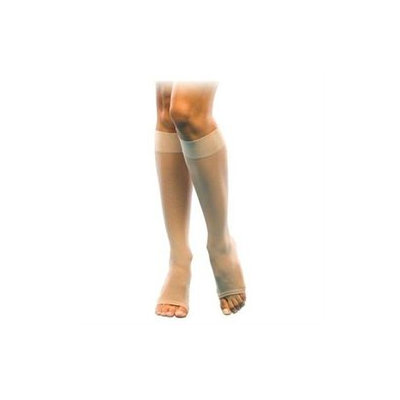 Sigvaris Women's Sheer Fashion 15-20 Mmhg Open Toe Knee High Sock - Size: B (7.
