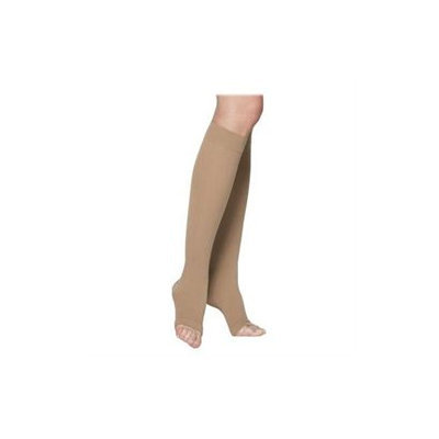 Sigvaris 230 Cotton Series 20-30 mmHg Unisex Open Toe Knee High Sock - Size: L4