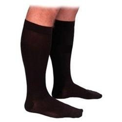 Sigvaris 863CL3M99 860 Select Comfort Series 3040 mmHg Mens Closed Toe Knee Highs 863C Size L3#44; Color Black 99