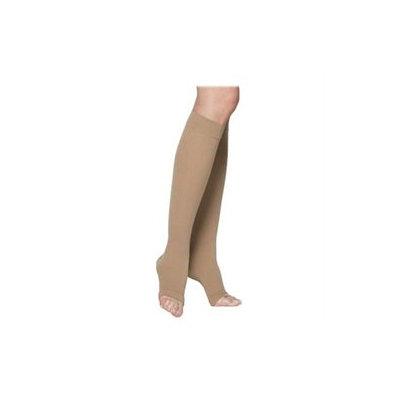 Sigvaris 230 Cotton Series 30-40 mmHg Unisex Open Toe Knee High Sock - Size: S2