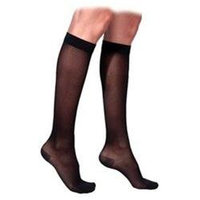 Sigvaris 770 Truly Transparent 30-40 mmHg Women's Closed Toe Knee High Sock - Size: M3, Color: Natural 33
