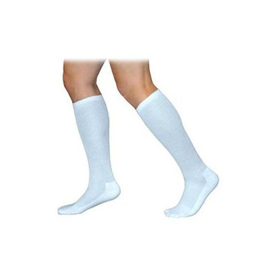 Sigvaris 360 Cushioned Cotton Series 20-30 mmHg Men's Closed Toe Knee High Sock - Size: S1, Color: Black 99