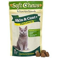NaturVet Skin and Coat Cat Treat