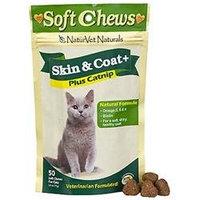 NaturVet Skin and Coat Cat Treat