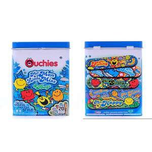 Ouchies Adhesive Bandages - Mr Men And Little Miss For Boyz