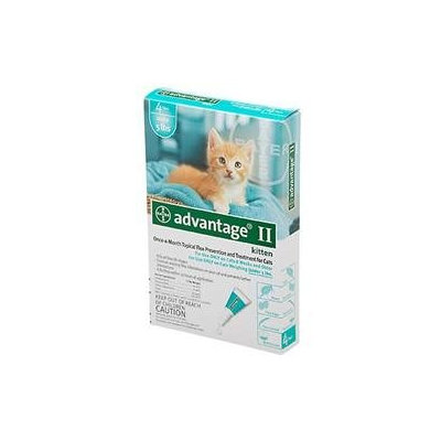 Bayer Advantage II for Cats - Under 5 lbs