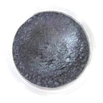 Glamour My Eyes Color Intense Mineral Eyeshadow - Charcoal (Shimmer) Large