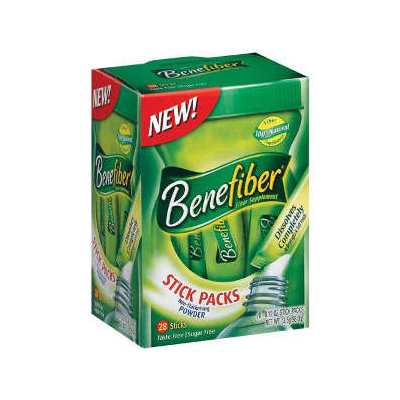 Benefiber Supplements Benefiber Fiber Supplement Powder Stick Packs - 28 Ea