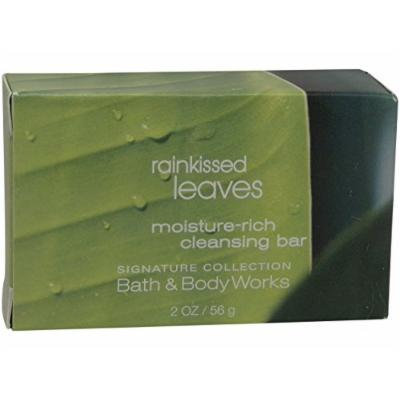Bath & Body Works Signature Collection RAINKISSED LEAVES Moisture Rich Cleansing Bar