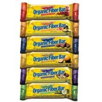 Renew Life Organic Fiber Bar, Lemon Burst, 18-Count Box