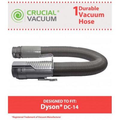 Dyson Vacuum DC14 Grey Hose Replaces Dyson Vacuum Part # 908474-01, 908474-37 by Crucial Vacuum