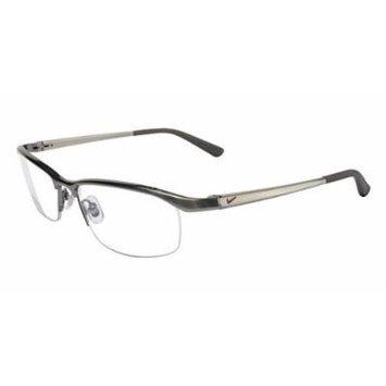 Nike Eyeglasses 6037 045 Steel Demo 51 17 135