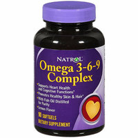 Natrol Omega 3-6-9 Complex Supplement 1 CT