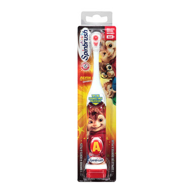 ARM & HAMMER Spinbrush Alvin and the Chipmunks Chipwrecked Kids Powered Toothbrush