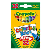Crayola Coloring Book Crayons, 32ct