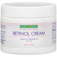 Nature's Bounty Optimal Solutions Retinol Cream Vitamin A 100,000 IU, 2 oz