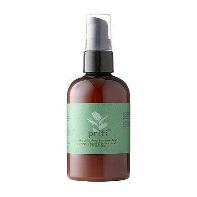 Priti NYC Organic Hand and Foot Cream (Body Cream)
