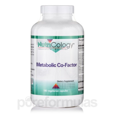 Metabolic Co-Factor 180 Vcaps by Nutricology/ Allergy Research Group