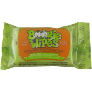Little Busy Bodies Boogie Wipes Fresh Scent Travel Pack 10-Count