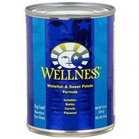 Wellness Pet Products 61117 Fish & Sweet Potato Canned Dog Food