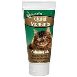 NaturVet Quiet Moments Calming Aid for Cats 3 oz