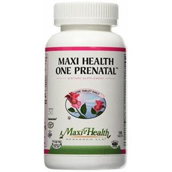 Maxi Health One Prenatal The Complete Prenatal Multi Vitamin, Kosher, 120 Count