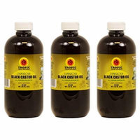Jamaican Black Castor Oil 8 oz (Pack of 3)