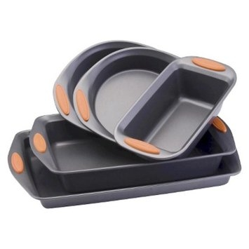 Rachael Ray Bakeware Set - Orange (5 Pc)