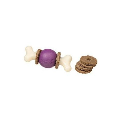 Premier Pet Products - Busy Buddy Bouncy Bone- Purple Small - BB BCY BN S