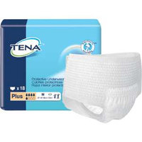 TENA Protective Underwear Plus, Medium, 72 ea
